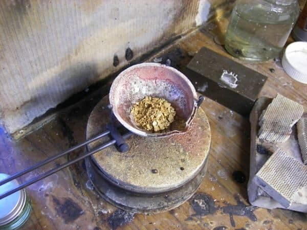 очистка золота