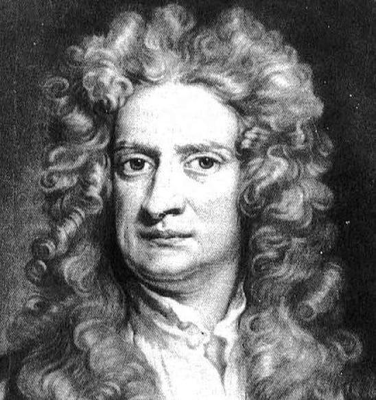 ученый Ньютон