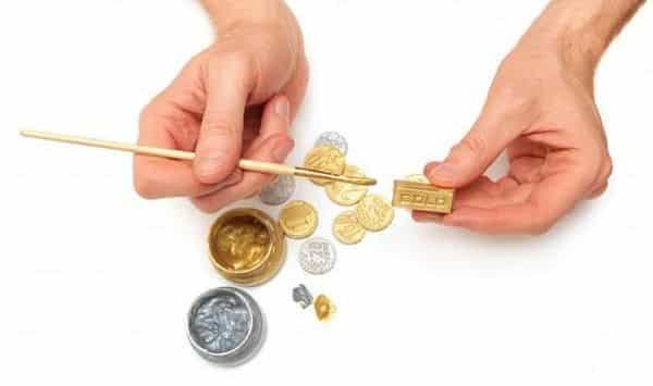 золото или позолота