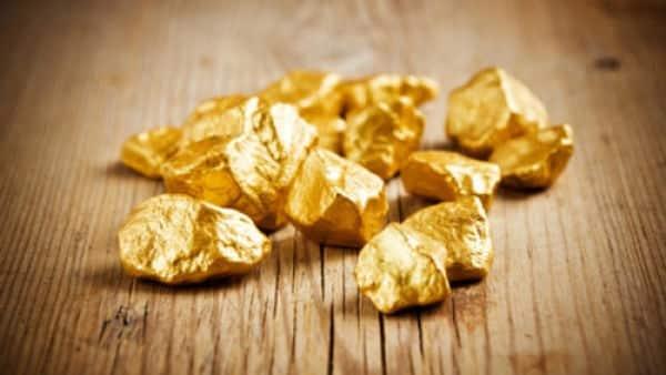 природные слитки золота