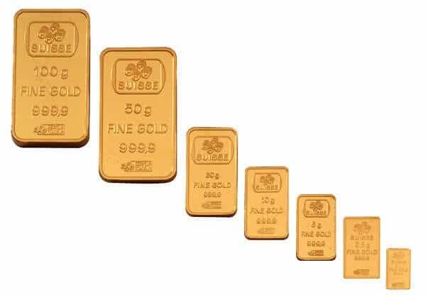 слитки золотые