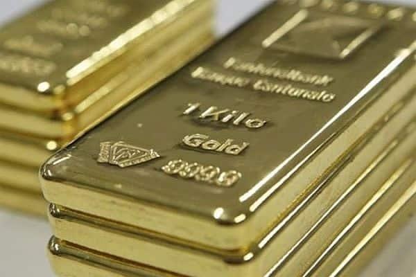 слитки из золота