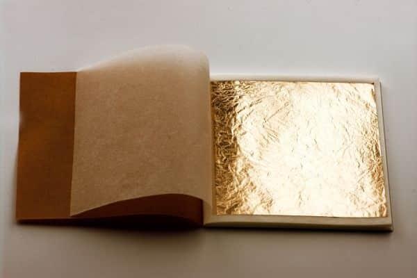золочение тонким золотом