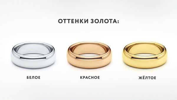 разные виды золото