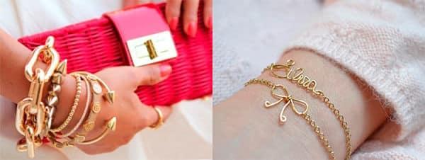 браслеты из золота