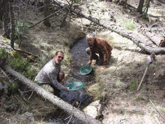 добыча золота кустарным методом