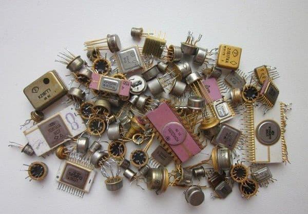 как получиь золото из микросхем можете