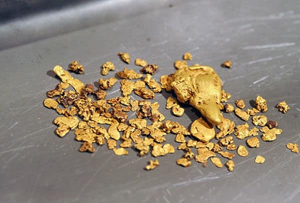 шлиховое золото