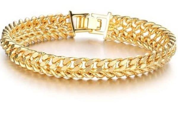 браслет из золота